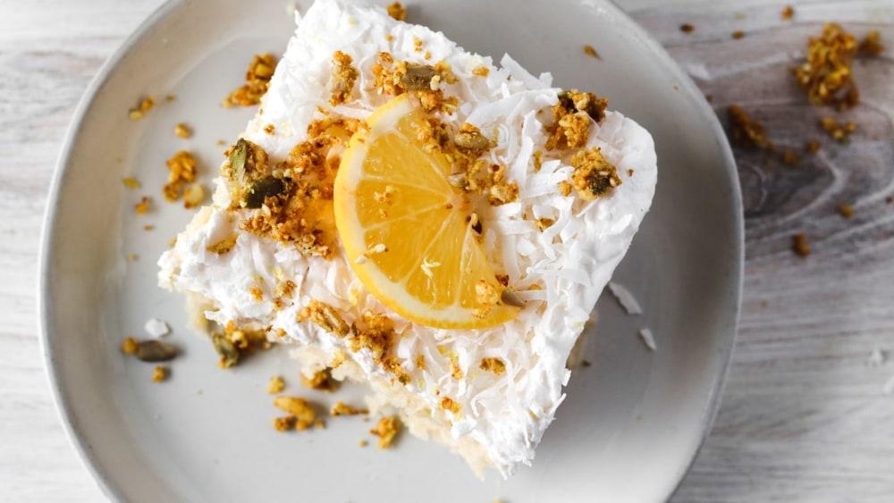 Image of Gluten Free Coconut Lemon Cake