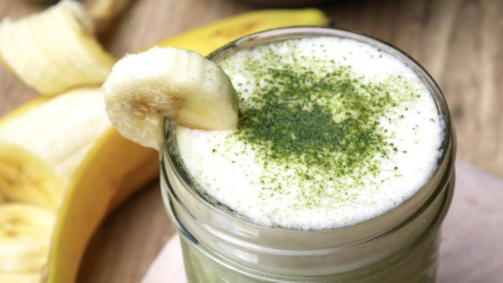 Image of Rezept Matcha Latte Banane Drink