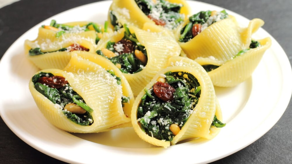 Image of Vegan Stuffed Shells: Dairy-free And Delicious