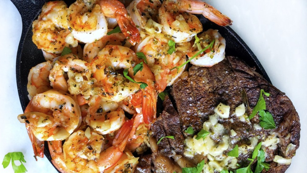 Image of Steak and Shrimp Surf n' Turf