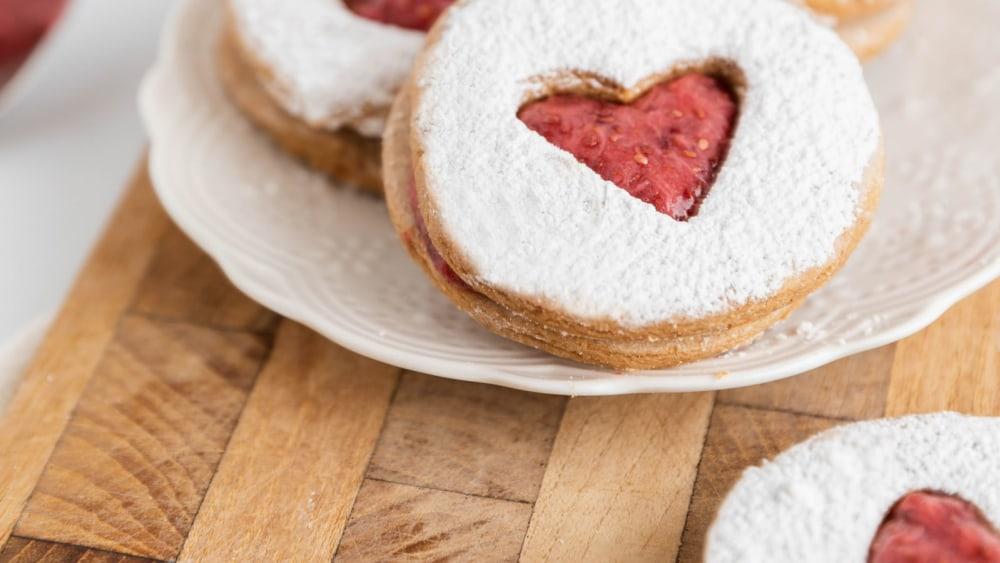 Image of Linzer Tart Cookies (My Favorite!)