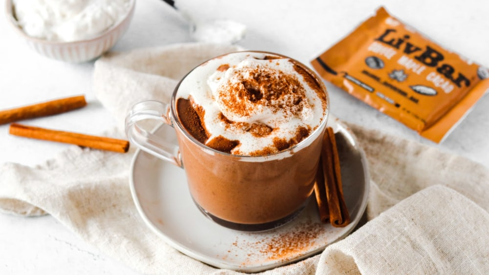 Image of Superfood Maple Cacao Hot Chocolate