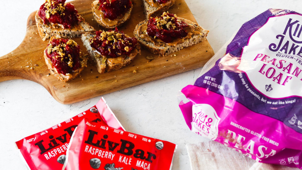 Image of Loaded Holiday Cranberry Toast