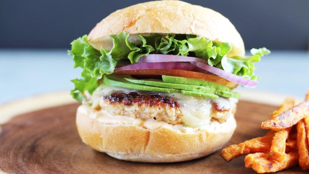 Image of Ground Chicken Burger