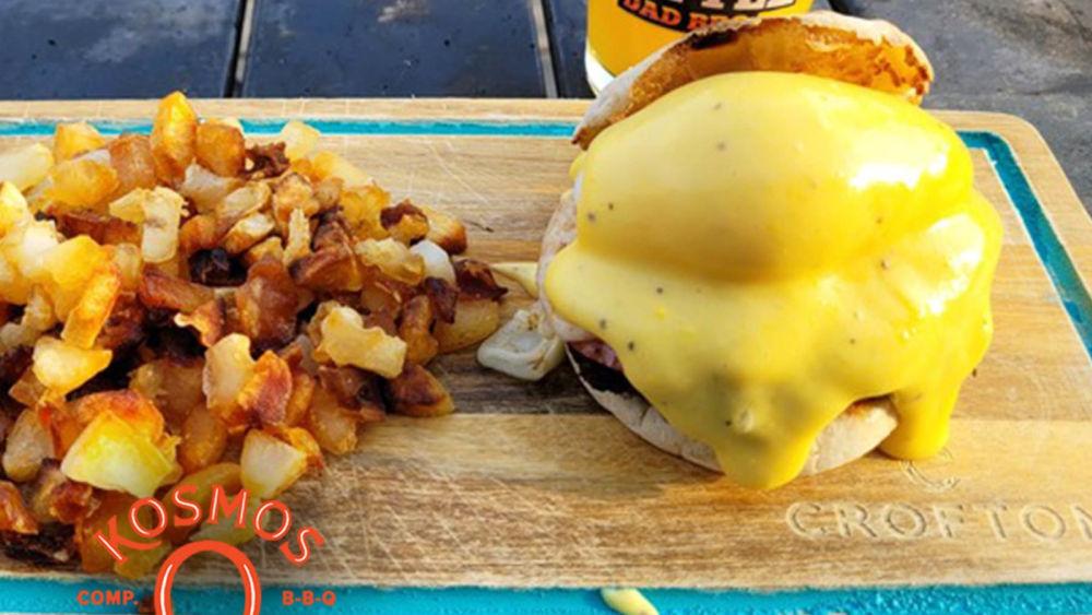 Image of Triple B - Breakfast Benedict Burger