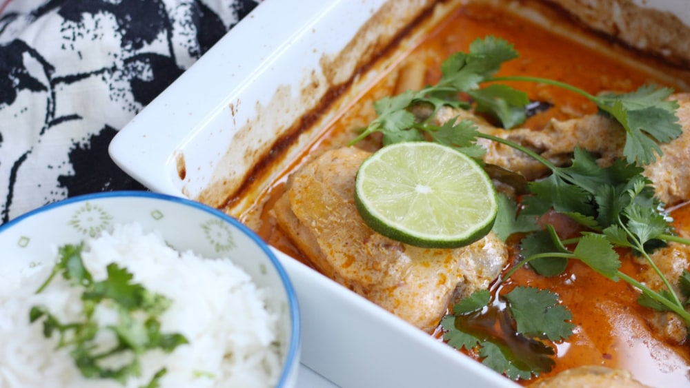 Image of Red Curry Chicken