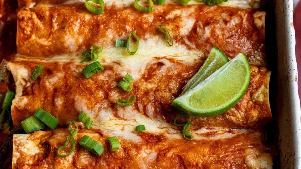 Image ofShrimp Street Corn Enchiladas