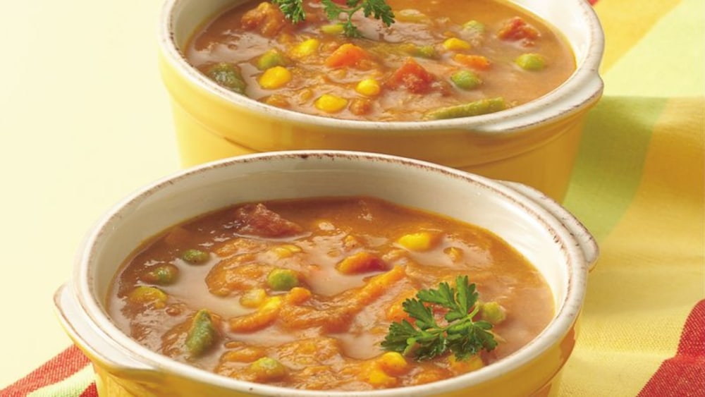 Image of Curried Pumpkin-Vegetable Soup