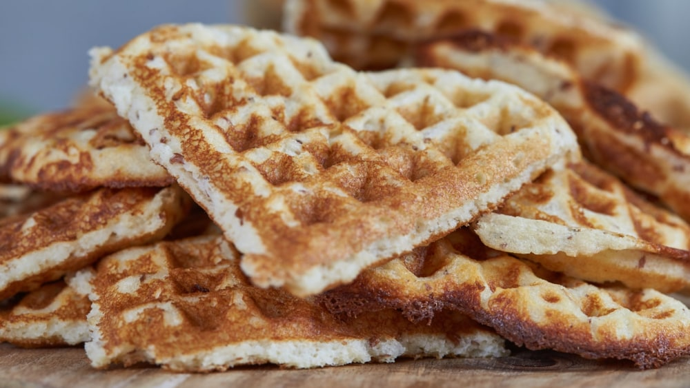 Image of Gluten-Free Buttermilk Norwegian Waffles
