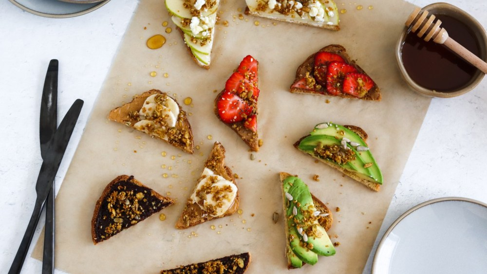 Image of Build Your Own Gluten Free Toast