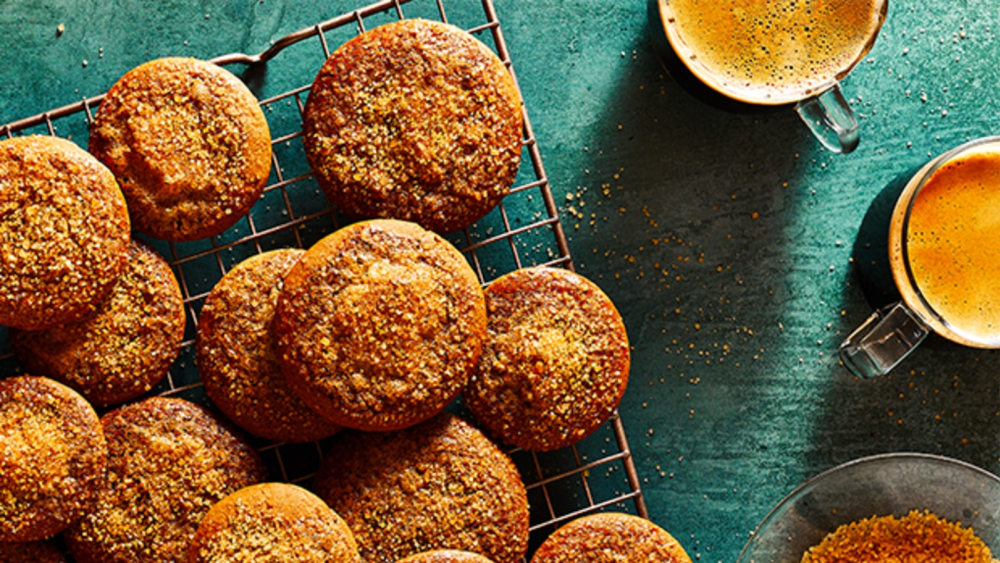 Image of Spiced Sugar Crusted Biscuits