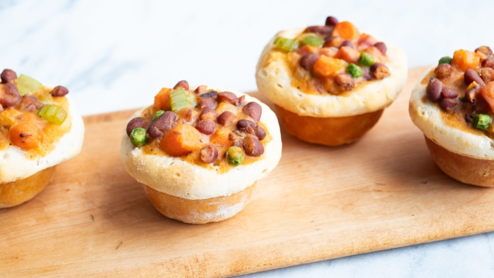Image of Jalapeño Bacon Bean & Ham Pot Pie