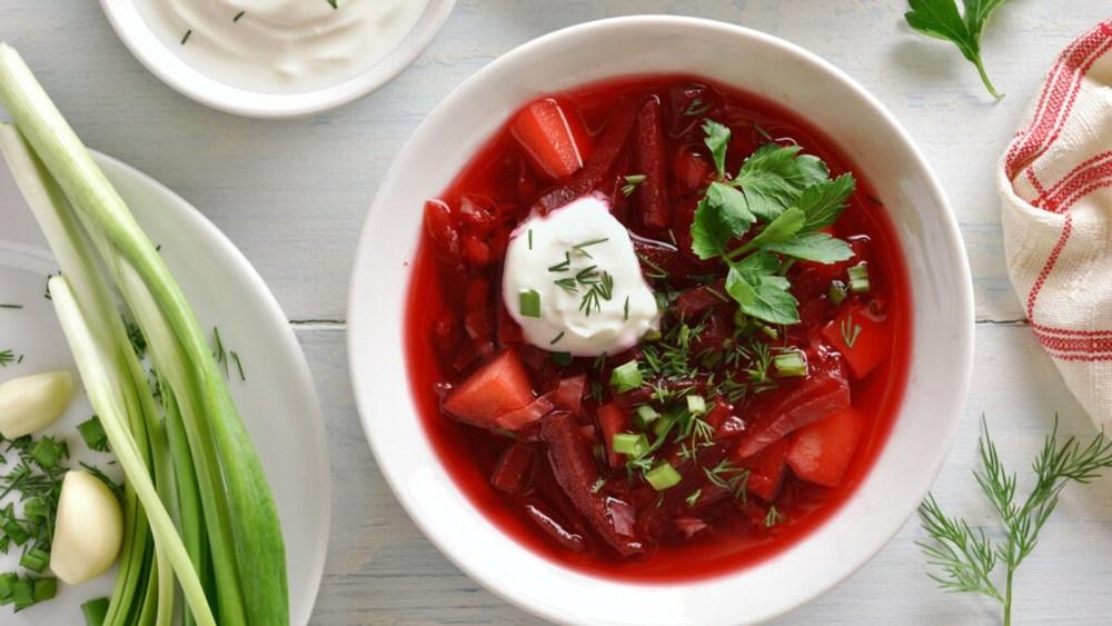 Image of Vegan Borscht: Vegan European Soup