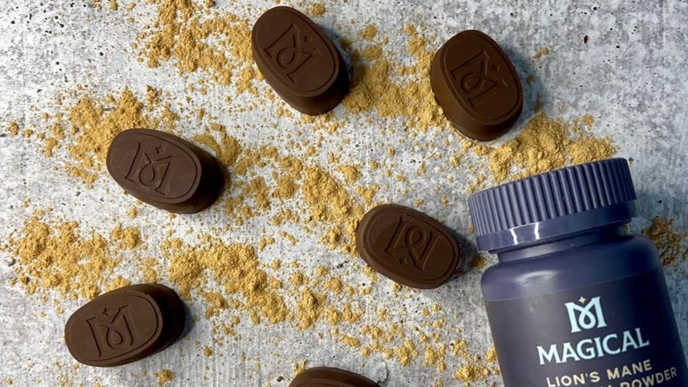 Image of Lion's Mane Chocolates