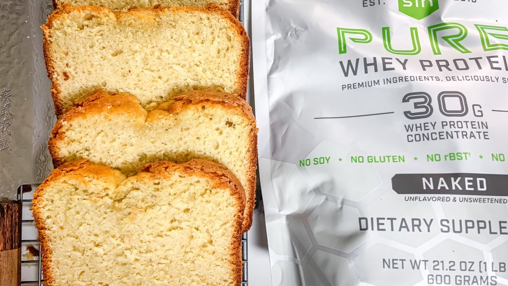 Image of Spiced Blood Orange Olive Oil Cake with SFH Pure Whey Protein