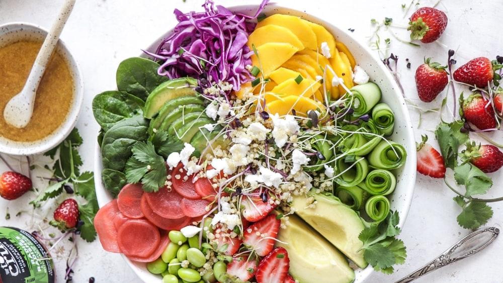 Image of Salade estivale colorée