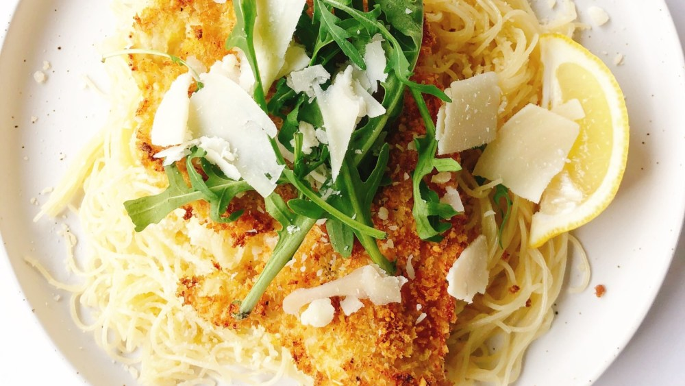 Image of Air Fried Chicken Milanese, Two Ways!
