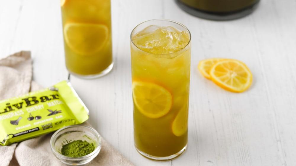Image of Sparkling Paleo Matcha Lemonade