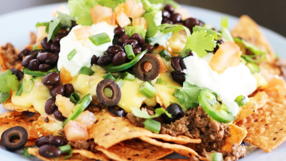 Image of Beef Loaded Nachos