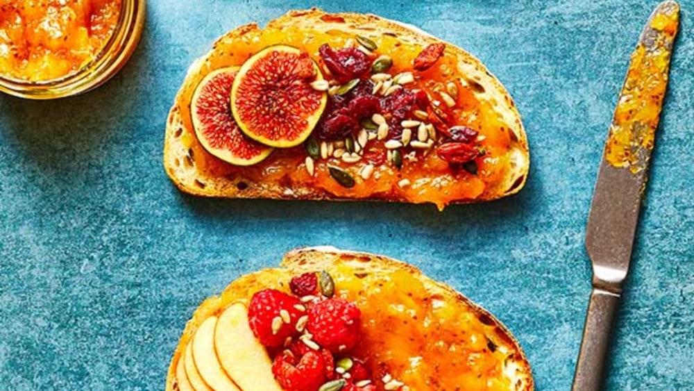 Image of Mango and Apricot Chia Jam