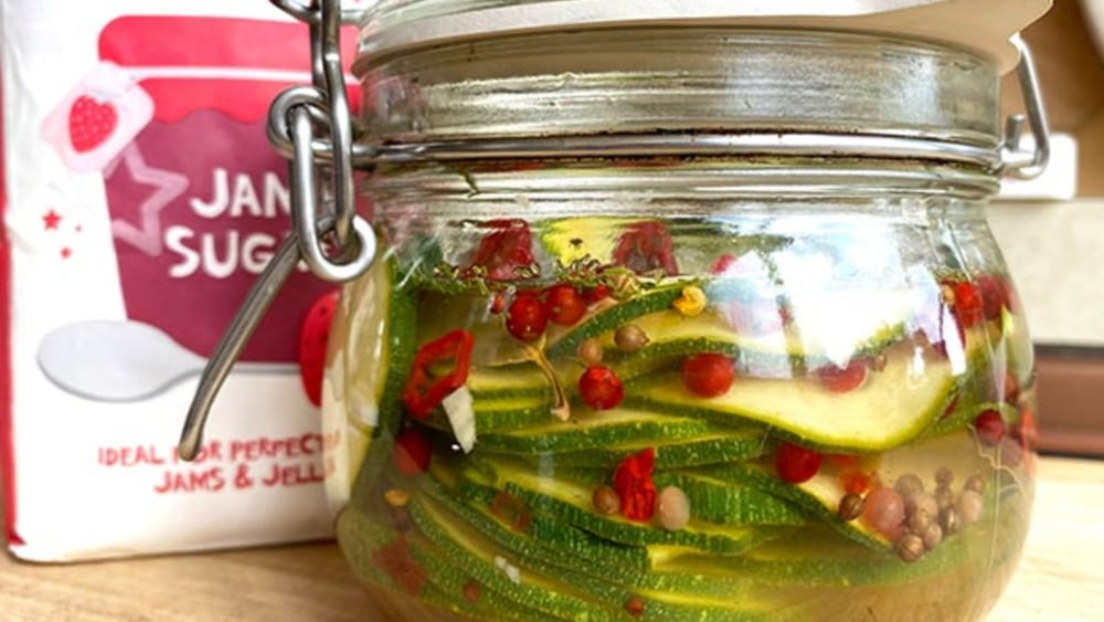 Image of Courgette Pickle