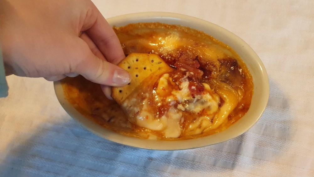 Image of Red Jalapeno Cheese Dip with Bacon