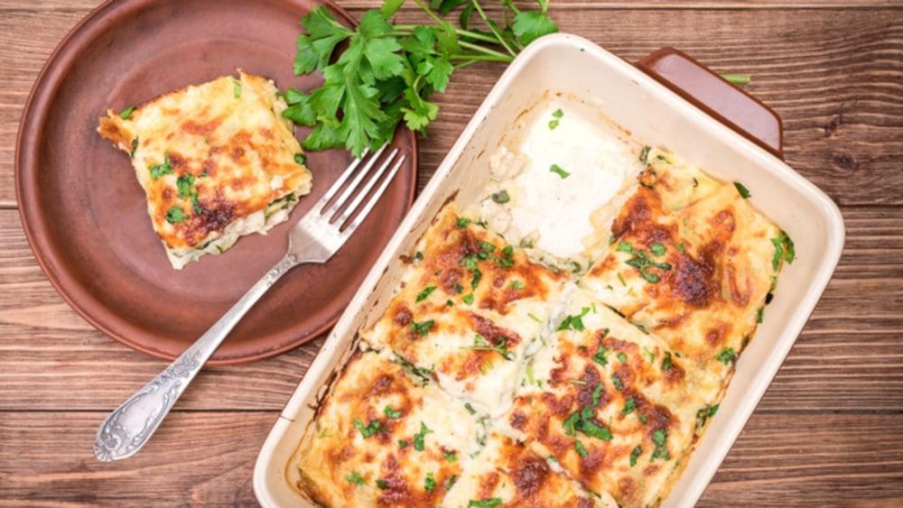 Image of Johnny's Seafood Lasagna
