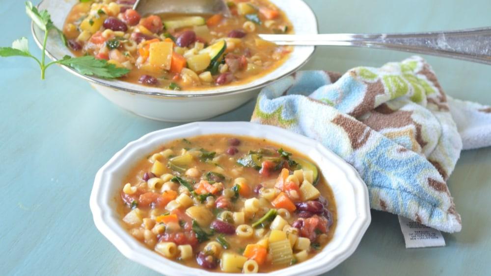 Image ofAuthentic Italian Minestrone Soup