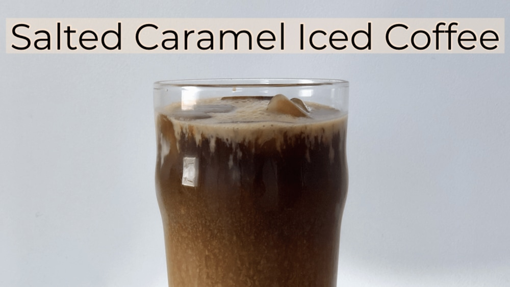 Image of Low Carb Sugar Free Salted Caramel Iced Coffee