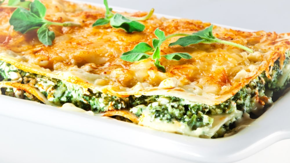 Image of SPINACH & RICOTTA LASAGNE