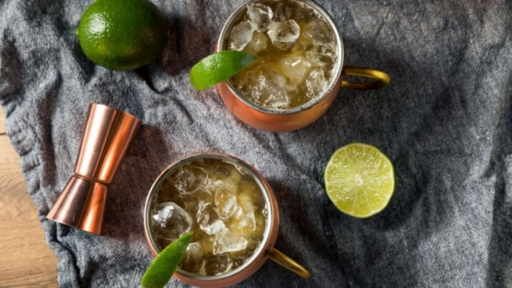 Image of Kentucky Bourbon Mule Recipe