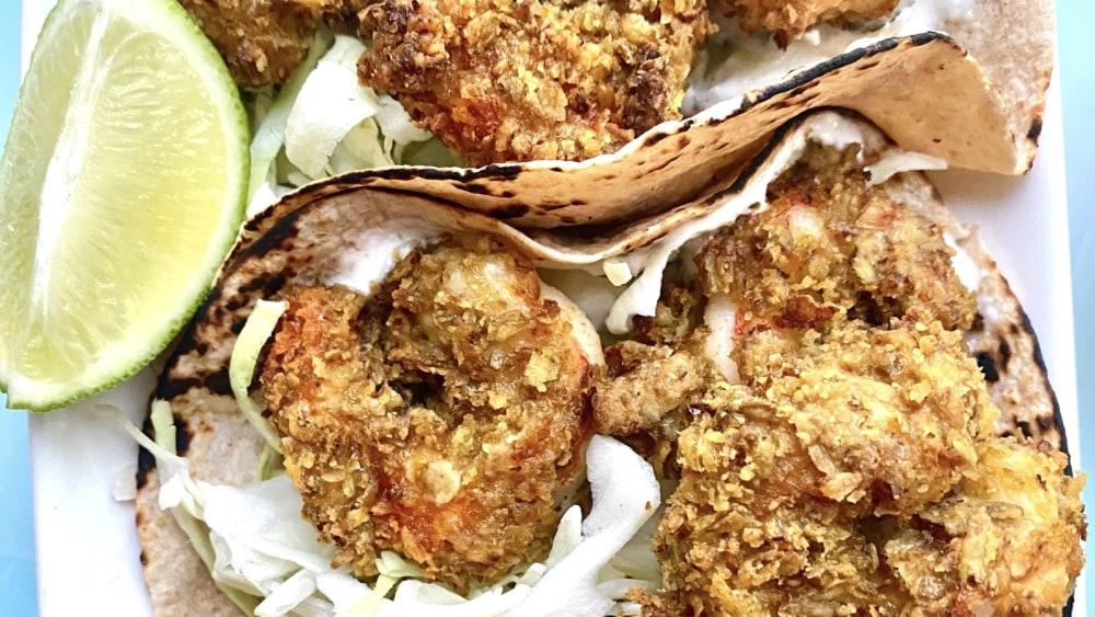 Image ofJalapeño Shrimp Tacos
