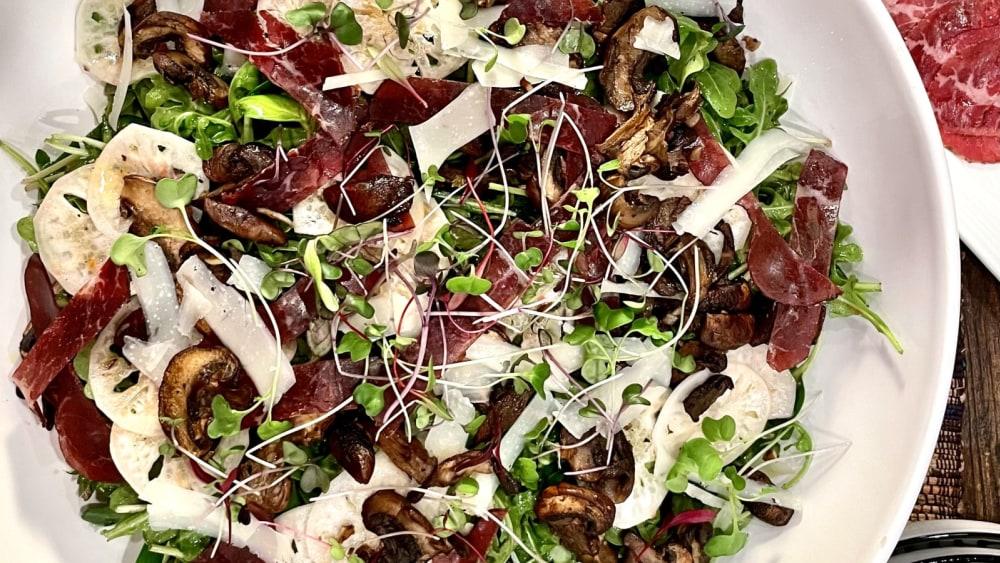 Image of Bresaola and Arugula Dinner Salad