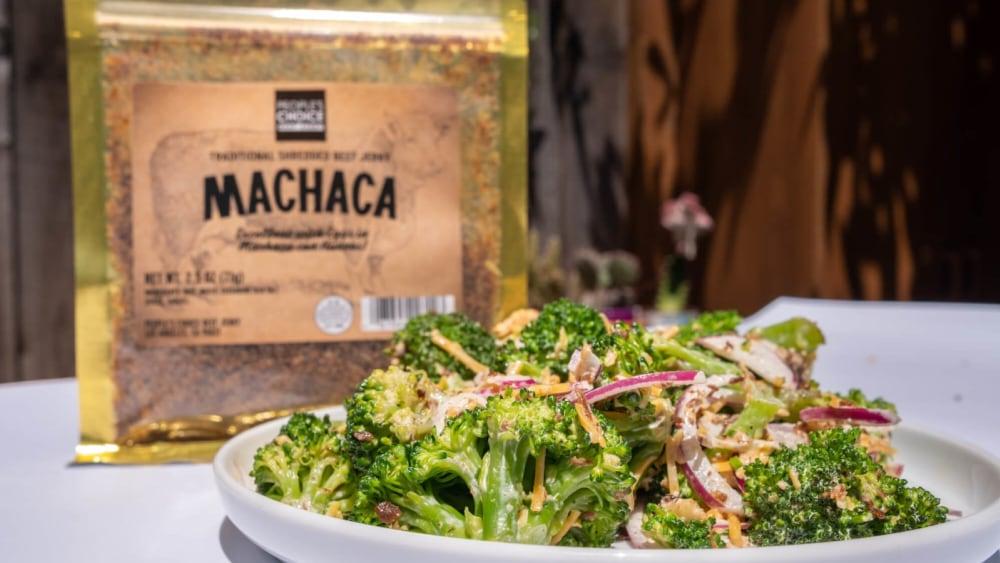 Image of Keto Machaca Broccoli Salad