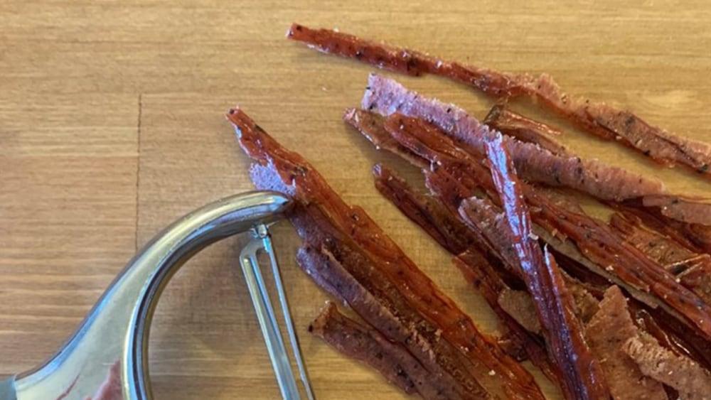 Image of Shaved Beef Sticks for a Super Simple Salad