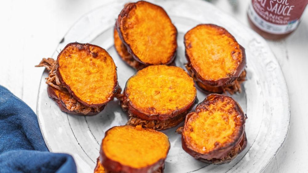 Image of Pulled Pork Sweet Potato Sliders