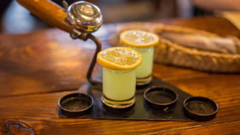 Image of Jameson Green Tea Shot Recipe