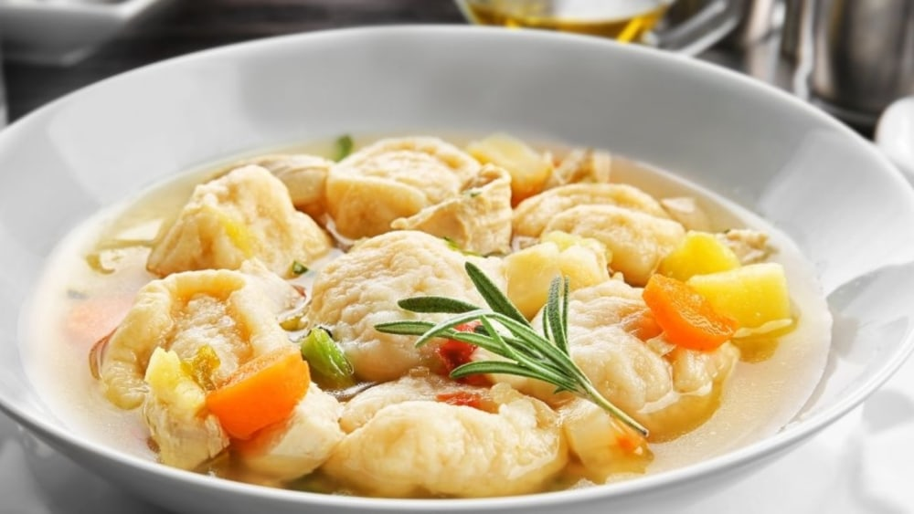 Image of Easy Quick Chicken and Dumplings Recipe