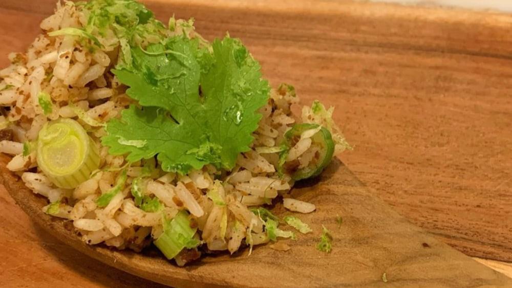 Image of Instant Pot Rice Recipe With Machaca