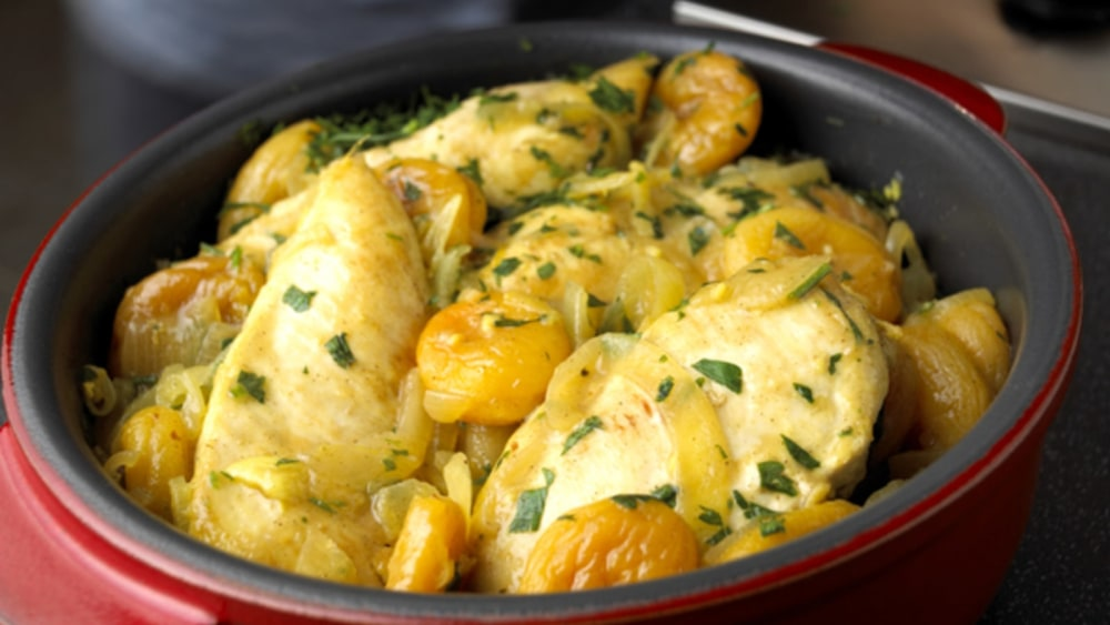 Image of ONE PAN APRICOT CHICKEN
