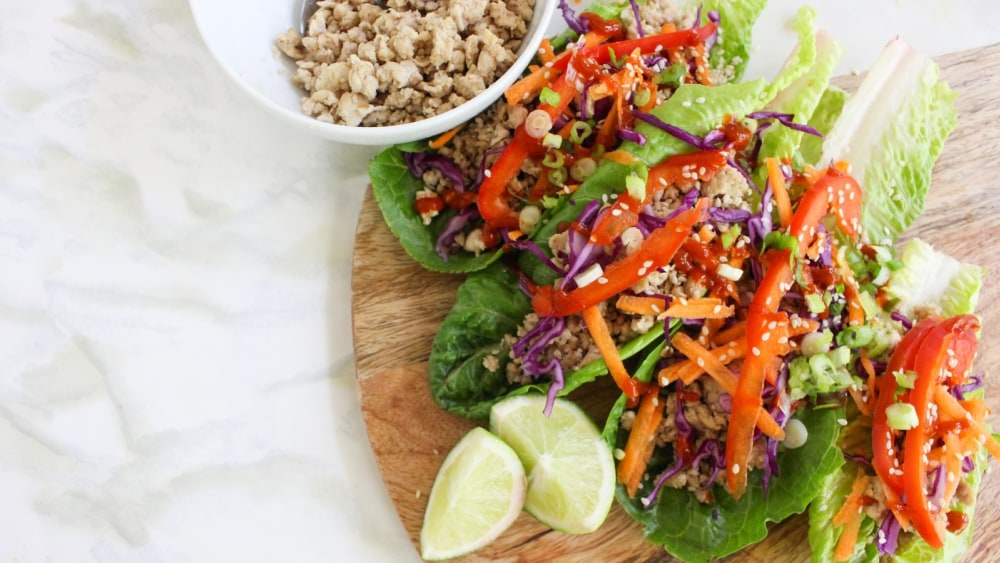 Image of Chicken Lettuce Wraps