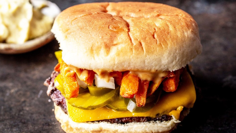 Image of  Burger and Fries