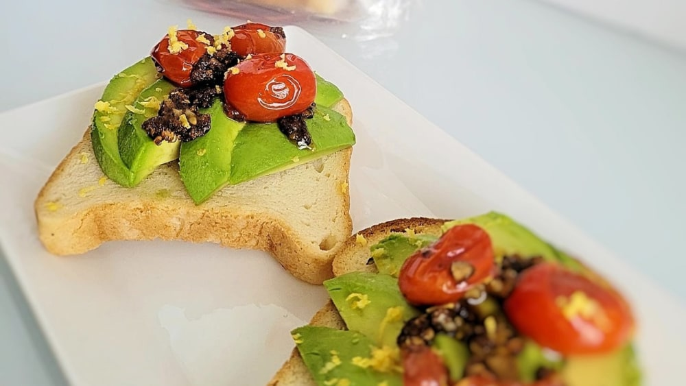 Image ofAvocado Rice Toast