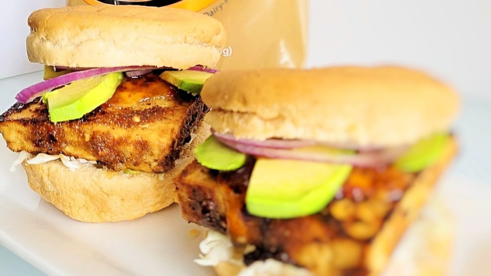 Image ofTeriyaki Tofu Sandwiches