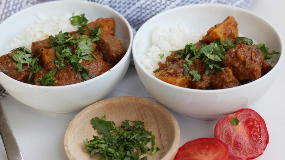 Image of Meat and Potato Curry
