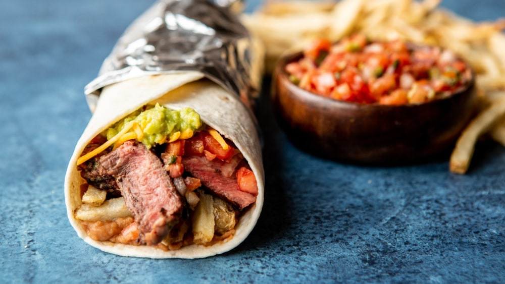 Image of Carne Asada French Fry Burrito