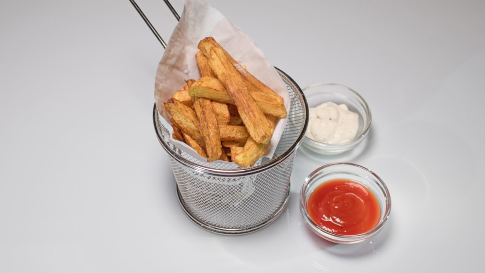 Image of French fries with White Truffle Spice