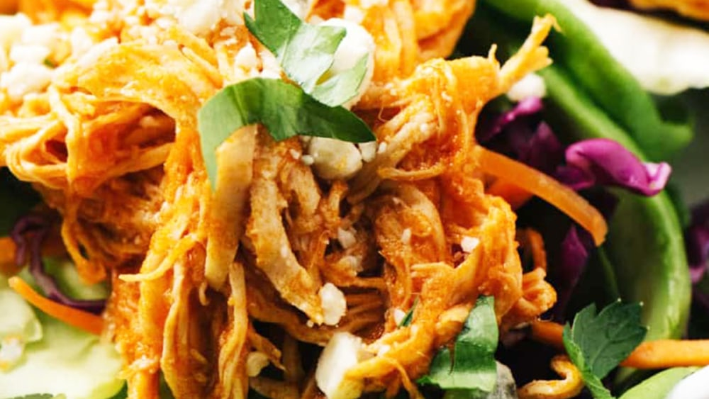Image ofGhost Pepper Chicken Lettuce Wraps Recipe | Elijah's Xtreme