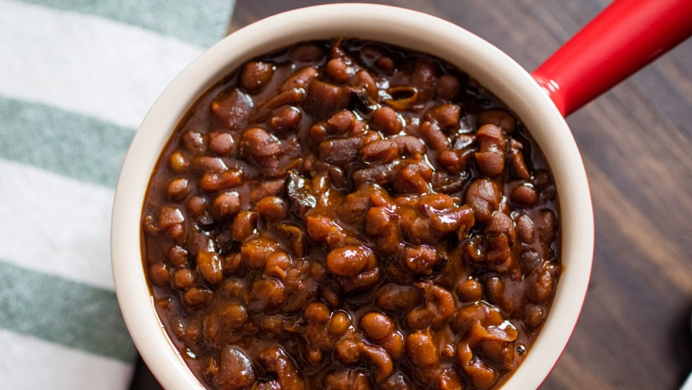 Image of Red Yams & Beans with Red Palm Oil