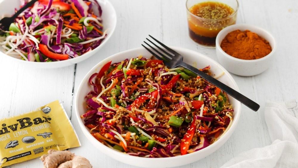 Image of Ginger Turmeric Asian Chopped Salad